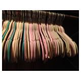 115+ covered hangers and Ladies dress - size 12