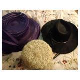2 Ladies hats and 1 Men