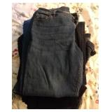 10 pairs Ladies jeans, some NWT, size 14-16W