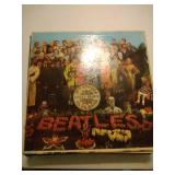 lot of record albums - Beatles, St. Pepper