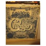 lot of record albums - Chicago, Mac Davis, Dirty