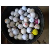 5 gallon bucket of golf balls