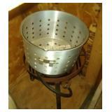 outdoor LP gas burner/fryer/boiler and insert