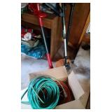 2 electric weed whackers and 2 extension cords