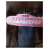 Alton 2.5 HP 6 gallon air compressor with hose