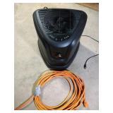 Air Care dehumidifier & orange extension cord