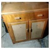 work cabinet - 38 inch wide, 16 inch deep and 43