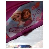 Frozen toddler bed with mattress by Delta