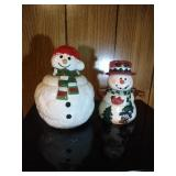 Snowman Cookie Jar by HomCo - 8.5 inch & 4 part