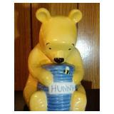 Winnie the Pooh and honey pot Cookie Jar by Disney