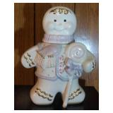 Gingerbread Man Cookie Jar by Lenox - 14.5 inches