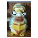 Reading Bird Cookie Jar by Roseville, Ohio - 12 in