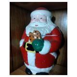 Santa with cookie Cookie Jar - 12 inches
