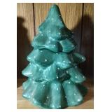 Evergreen tree Cookie Jar by Living Quarters -
