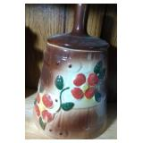 Butter Churn Cookie Jar - 11 inches