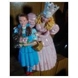 Glinda & Dorothy Cookie Jar - 12 inches