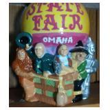 State Fair - Omaha Cookie Jar - 12.5 inches