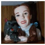 Dorothy & Toto Cookie Jar - 10.5 inches