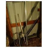scrap metal lot - 10 foot conduit, threaded pipe,