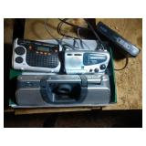 lot of 3 radios and a converter
