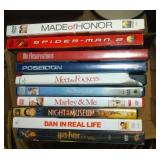lot of 10 DVD including Made of Honor