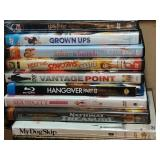 lot of 10 DVD including Harry Potter