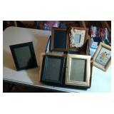 shoebox of picture frames