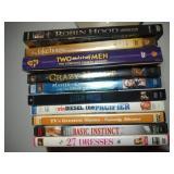 lot of 10 DVD including Robin Hood