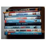 lot of 10 DVD including National Treasure 2