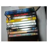 lot of 10 DVD including Avatar