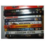 lot of 10 DVD including Hitch