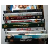 lot of 10 DVD including The Tourist