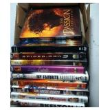 lot of 10 DVD including The Passion of the Christ