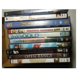 lot of 10 DVD including Wolverine