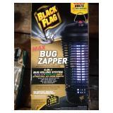 Black Flat bug zapper - 6500 volts