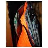 clothes is left side of closet including 2XL Guide