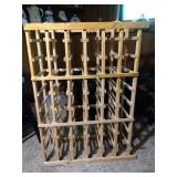 wine rack - 38 inch tall by 12 inch deep by 27.5