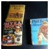 2 Big Little Books, cheese box and 1 other