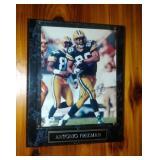 Antonio Freeman autographed photo on plaque