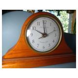 Savannah Row mantle clock with chimes