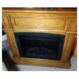 electric fireplace with remote - 40 inch wide