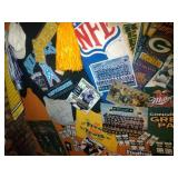 contents of west wall and door - Packers / NFL
