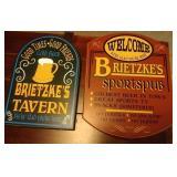 2 Sportspub or Tavern signs