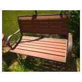 Lifetime 2 person glider bench