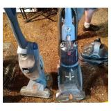 3 vacuum / carpet cleaners - Bissell Spot Bot,