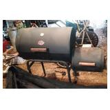 Char Griller charcoal grill and smoker with cover