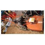 The DR Field & Brush Mower, 8 HP Briggs & Stratton