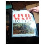 lot of books including Civil War Battles