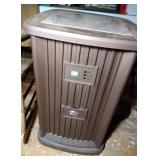 Essick dehumidifier with stone top - top is