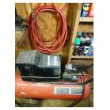 Craftsman air compressor with hose and nozzle